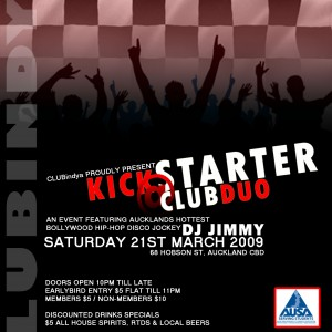 Kick Starter @ Club Duo